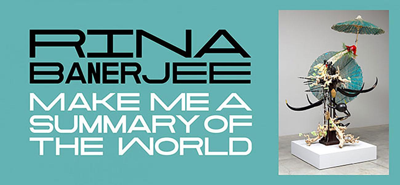 Rina Banerjee: Make Me a Summary of the World