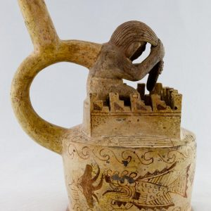 UCLA Fowler Museum Collection: X88.802 Moche vessel left view