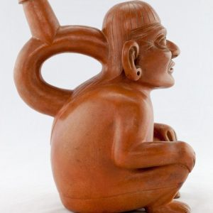 UCLA Fowler Museum Collection: X88.805 Moche vessel left view