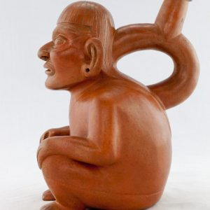 UCLA Fowler Museum Collection: X88.805 Moche vessel right view