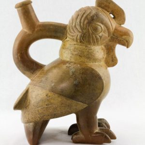 UCLA Fowler Museum Collection: X88.806 Moche vessel right view