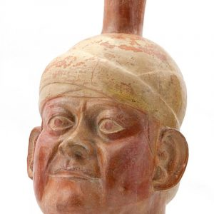 UCLA Fowler Museum Collection: X88.808 Moche vessel front angle