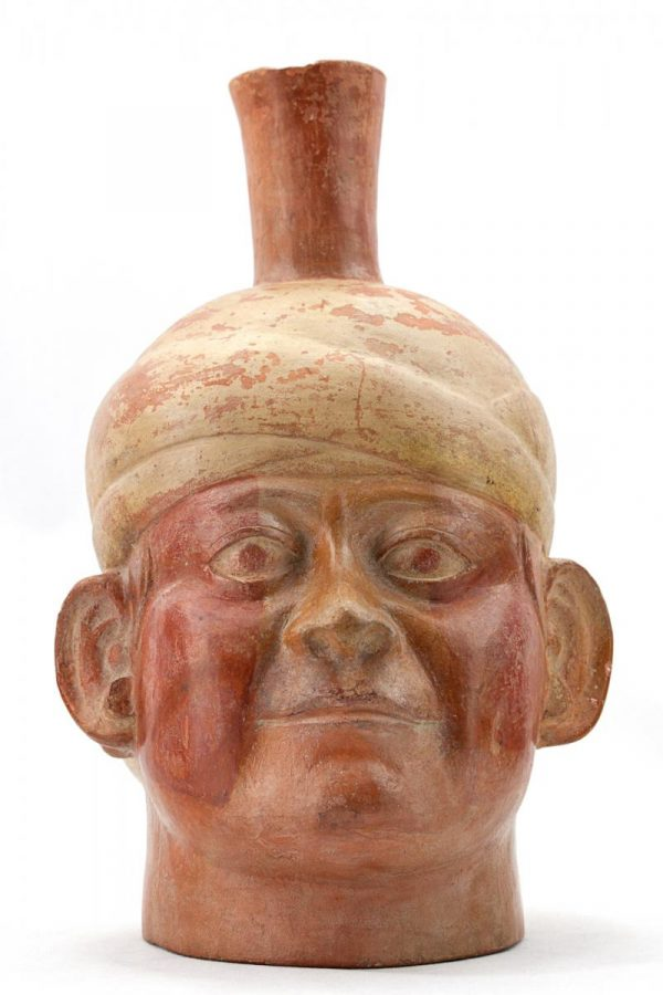 UCLA Fowler Museum Collection: X88.808 Moche vessel front view