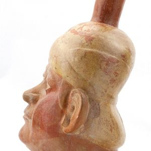 UCLA Fowler Museum Collection: X88.808 Moche vessel left view