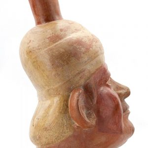 UCLA Fowler Museum Collection: X88.808 Moche vessel right view