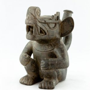 UCLA Fowler Museum Collection: X88.809 Moche vessel right view