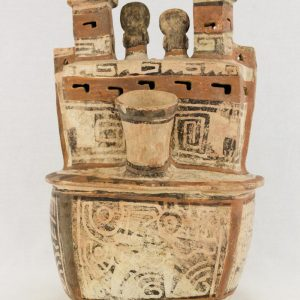 UCLA Fowler Museum Collection: X88.810 Recuay vessel back view