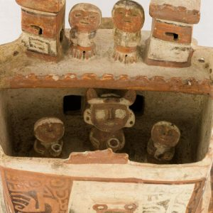 UCLA Fowler Museum Collection: X88.810 Recuay vessel detailed view