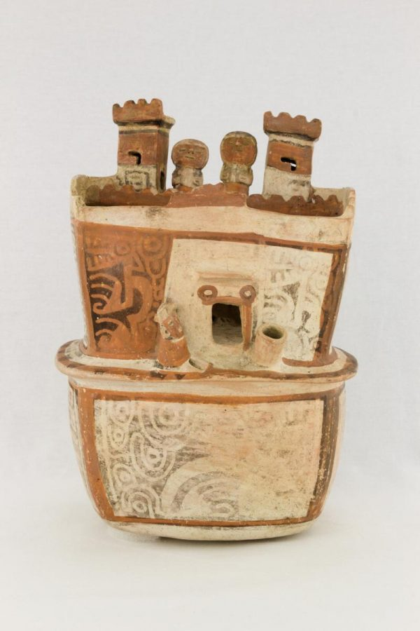 UCLA Fowler Museum Collection: X88.810 Recuay vessel front view