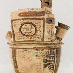 UCLA Fowler Museum Collection: X88.810 Recuay vessel left view