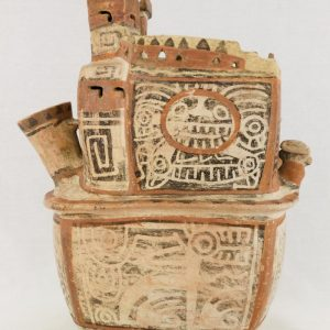 UCLA Fowler Museum Collection: X88.810 Recuay vessel right view