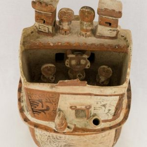 UCLA Fowler Museum Collection: X88.810 Recuay vessel top view