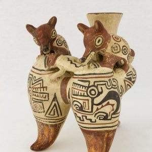 UCLA Fowler Museum Collection: X88.811 Recuay vessel