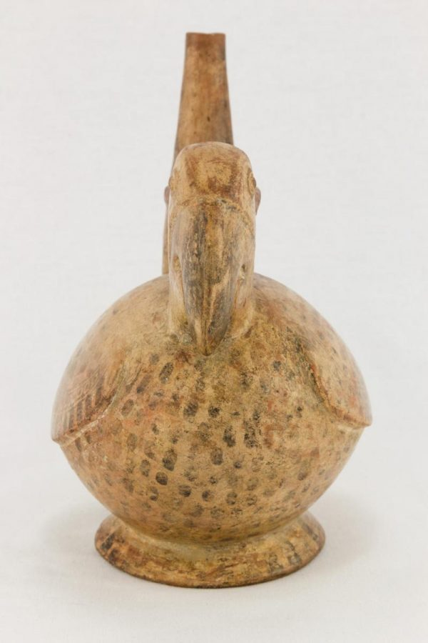 UCLA Fowler Museum Collection: X88.817 Chimu vessel front view