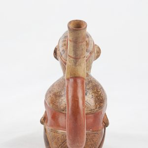UCLA Fowler Museum Collection: X88.818 Lambayeque vessel back view