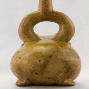 UCLA Fowler Museum Collection: X88.819 Moche vessel back view