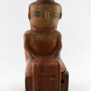 UCLA Fowler Museum Collection: X88.828 Chavin vessel front view