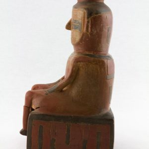 UCLA Fowler Museum Collection: X88.828 Chavin vessel left view