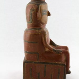 UCLA Fowler Museum Collection: X88.828 Chavin vessel right view
