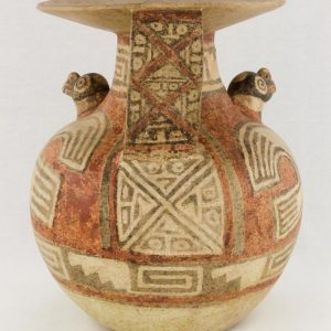 UCLA Fowler Museum Collection: X88.830 Recuay vessel back view