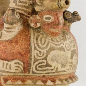 UCLA Fowler Museum Collection: X88.830 Recuay vessel detailed view