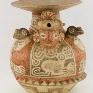 UCLA Fowler Museum Collection: X88.830 Recuay vessel front view