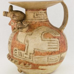 UCLA Fowler Museum Collection: X88.830 Recuay vessel left view