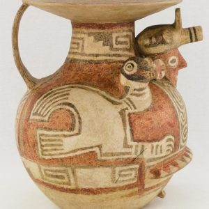 UCLA Fowler Museum Collection: X88.830 Recuay vessel right view