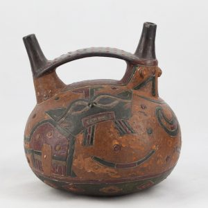 UCLA Fowler Museum Collection: X88.832 Paracas vessel back view