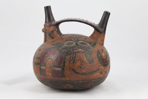 UCLA Fowler Museum Collection: X88.832 Paracas vessel front view