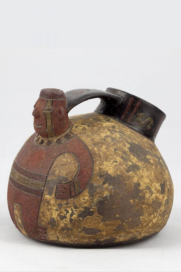 UCLA Fowler Museum Collection: X88.833 Paracas vessel front view