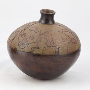 UCLA Fowler Museum Collection: X88.834 Paracas vessel angle view