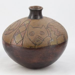 UCLA Fowler Museum Collection: X88.834 Paracas vessel back view