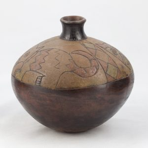 UCLA Fowler Museum Collection: X88.834 Paracas vessel right view