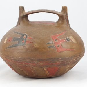 UCLA Fowler Museum Collection: X88.835 Paracas vessel back view