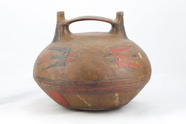 UCLA Fowler Museum Collection: X88.835 Paracas vessel front view