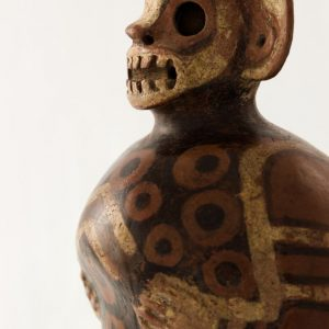 UCLA Fowler Museum Collection: X88.837 Vicus vessel detailed view