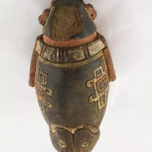 UCLA Fowler Museum Collection: X88.840 Chavin vessel back view