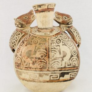UCLA Fowler Museum Collection: X88.841 Recuay vessel back view