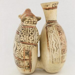 UCLA Fowler Museum Collection: X88.841 Recuay vessel left view