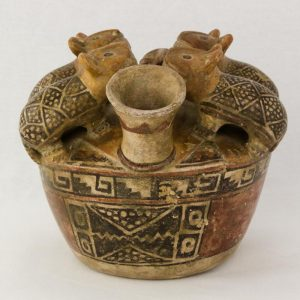 UCLA Fowler Museum Collection: X88.842 Recuay vessel back view