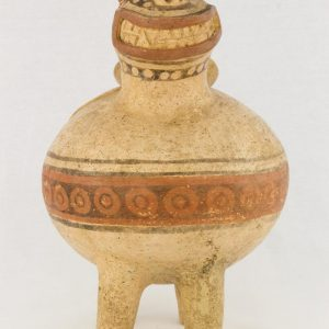 UCLA Fowler Museum Collection: X88.844 Recuay vessel front view
