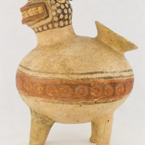 UCLA Fowler Museum Collection: X88.844 Recuay vessel left view