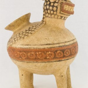 UCLA Fowler Museum Collection: X88.844 Recuay vessel right view