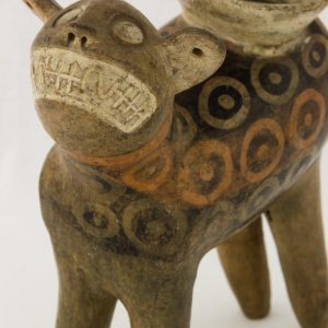 UCLA Fowler Museum Collection: X88.845 Recuay vessel detailed view