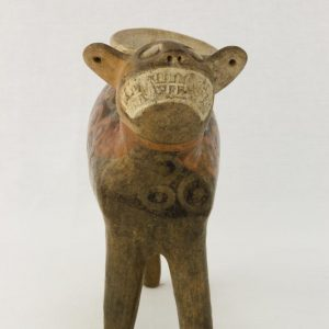 UCLA Fowler Museum Collection: X88.845 Recuay vessel front view