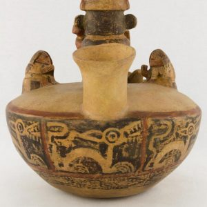 UCLA Fowler Museum Collection: X88.846 Recuay vessel back view