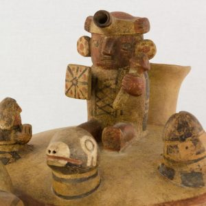 UCLA Fowler Museum Collection: X88.846 Recuay vessel detailed view