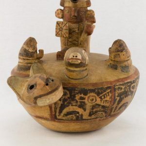 UCLA Fowler Museum Collection: X88.846 Recuay vessel front view