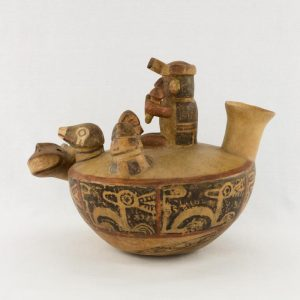 UCLA Fowler Museum Collection: X88.846 Recuay vessel left view